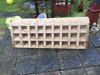 UNTREATED 6X2 GARDEN TRELLIS £6 EACH
