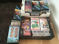 Boxes of VHS Tapes - Many unused, various, £1 each VHS Tape
