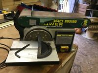 "Record Power BDS 150 6"" x 4"" Belt & Disc Sander"