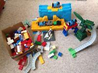 Big bundle of mega blocks Thomas