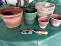 pots - garden pots