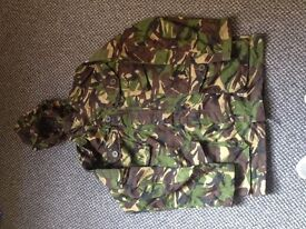 Army issue dpm combat smock with hood