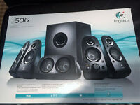 LOGITECH Z506 5.1 PC Speakers (New).