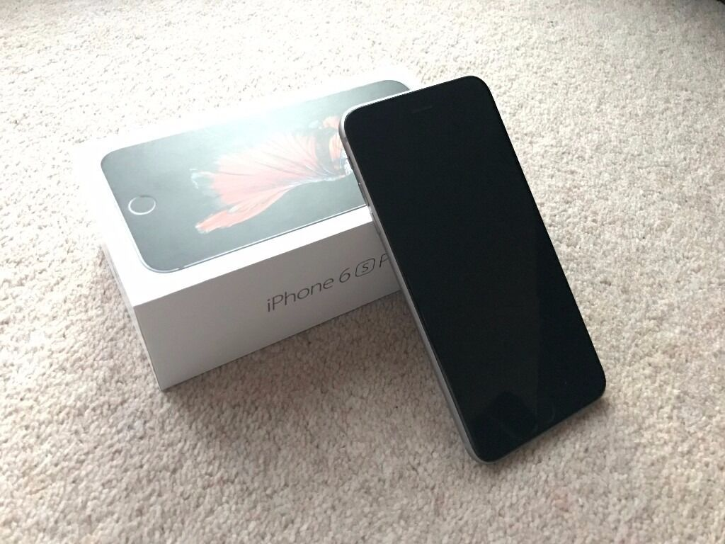 Used iPhone 6S Plus Space Grey 64GB with Box and Official Apple Leather Casein Chelmsford, EssexGumtree - Used iPhone 6S Plus Space Grey 64GB Storage Comes with box. No earphones or charge plug and USB cable included however. Minor scratches on back, barely visible. Official Apple Leather case worth £35 included (used)