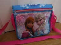 Disney Frozen Messenger Bag Ideal For School Or Just A Spare Bag Used Condition
