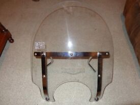 GENUINE TRIUMPH BONNEVILLE T100 WINDSCREEN / WIND SHIELD