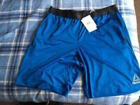 Reebok training gym football sport shorts