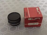 2X AUTOMATIC TELEPHOTO LENS CONVERTER IN OLYMPUS OM FIT