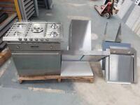 Smeg Oven, Hob, Extractor & Hood.