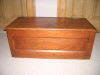 Solid Wooden Storage Trunk
