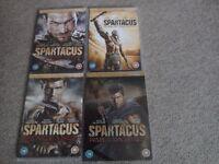 SPARTACUS DVD SET - 14 DISCS OVER 4 DVDS