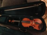 Gliga Gems 2 Violin 3/4, bow, case and shoulder rest