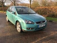 FORD FOCUS TITANIUM 2007 DIESEL 85K MILES LONG MOT LEATHER INTERIOR FULL SERVICE HISTORY