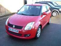 Suzuki Swift GLX 3dr (red) 2010