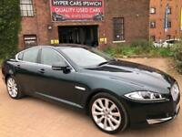 JAGUAR XF D V6 LUXURY (green) 2013