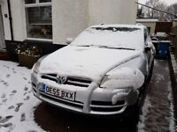 Volkswagen touareg for sale spares/repairs