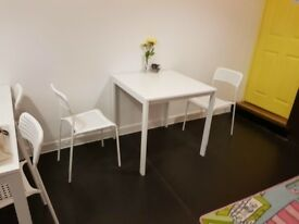Small Ikea White Dining Table - Used