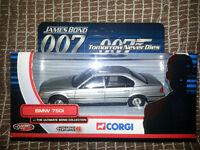 Corgi James Bond 007, BMW 750i, TY05102, Ultimate Collection, Tomorrow Never Dies