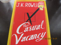 The Casual Vacancy by JK Rowling.
