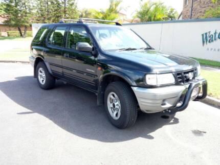 2002 Holden Frontera v6 4WD wagon
