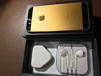IPHONE 5s unlocked gold colour immaculate 😁👍
