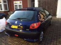peugeot 206 1.4 look salvage bargain cheap