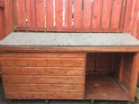 Dog kennel large- Was used for Labrador