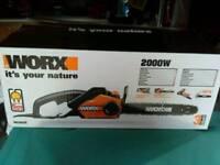 Worx chainsaw model WG303E New