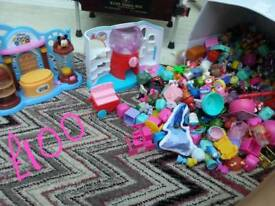 Shopkins and other surprise toys