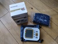 Electronic blood pressure monitor (upper arm type) - Broadcare - only used once!