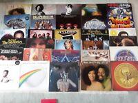 30 SOUL, FUNK, R&B, MOTOWN LP RECORDS FOR SALE.