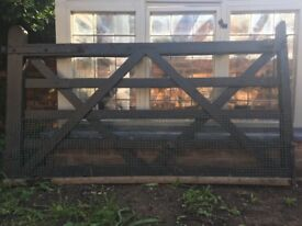 Wooden five bar gate **FREE**