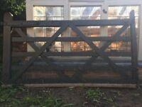 Wooden five bar gate **FREE**
