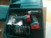 Makita 14.4v combi drill and impact driver