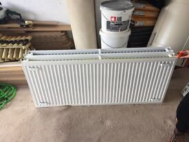 Multiple radiators for sale, as new, white