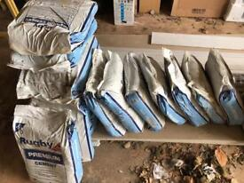 16 bags of Cement