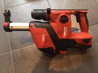 Hilti TE 4-A22 hammer drill + dust extraction unit + B22/5.2Ah battery