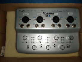 Alesis i04 USB Audio Interface - Perfect for starting acoustic drum recording