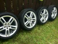 18 inch 5x112 genuine alloys wheels