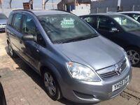 Vauxhall Zafira 1.9 CDTi Exclusiv 5dr£3,495 p/x welcome 6 MONTHS FREE WARRANTY.NEW MOT