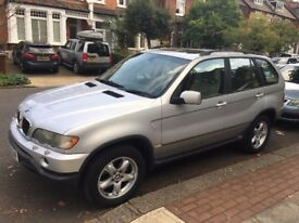 BMW X5 2002 Automatic FULL CREAM LEATHER, 2 x KEYS,HEATED SEATS, SUNROOF. - LONDON BASED