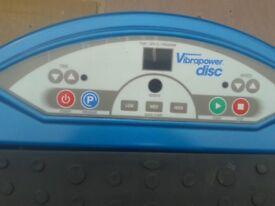 Vibrapower disc body workout machine for sale