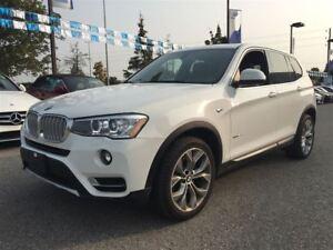 2017 BMW X3 *xDrive28i|Navigation|Sunroof