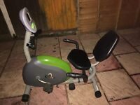 V fit exercise bike local delivery