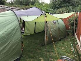 Gelert 6 person Quest tent excellent condition