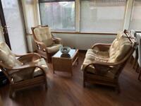 Bamboo furniture 4 pieces