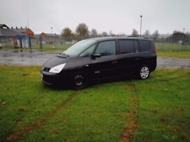 7 seater Renault Grand Espace 2.0 Dci
