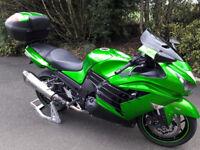 Kawasaki ZZR 1400 FCF 2012
