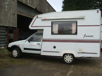 campers/motorhomes ,2/3 berth deisel ,first will buy ,£900 just spent on mot ,spottles thouought,