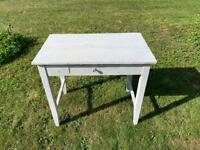 Antique pine desk / table